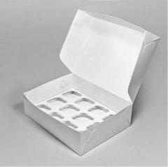 Коробка для 9 капкейков