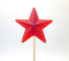 Леденец Звезда красная 1 шт