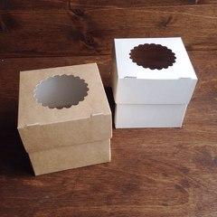 Коробка для 1  кап.с окном