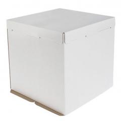 Коробка д/торта 40*40*35 картон