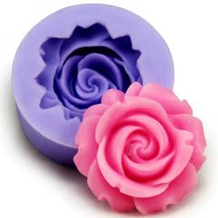 Молд  Роза 4,5*2 см