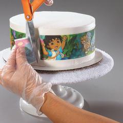 Печать на вафельной тонкой бумаге А4