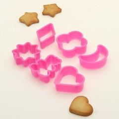 Форма для печенья 5,5Х5Х2см, 6 шт