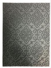 """Коврик текстурный 24,5х18 см """"Винтаж"""", черный"""
