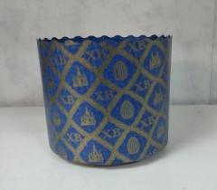 Форма д/куличей синяя
