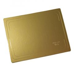 Подложка  37см*28 2,5 мм золото усиленная одностор.