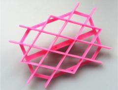 Печать д/мастики Ромб - сетка 12,5х7см.