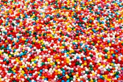 Посыпки шарики разноцветные 2мм. 50гр