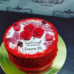 МК Шоколадный торт, красный бархат